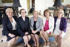 10. Mins Humphreys, Fitzgerald, O'Sullivan, Tanaiste + Attorney General Whelan