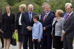 5(5) An Taoiseach saying hi to Eddie