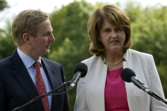 5(6) An Taoiseach + Tanaiste addressing the press