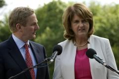 5(6) An Taoiseach + Tanaiste addressing the press