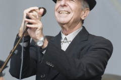 Leonard Cohen by Pamela Cassidy