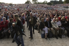 Leonard Cohen in concert at Lissadell House in Sligo, yesterday.Photo: James Connolly / PicSell801AUG10