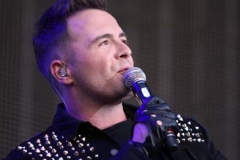 Shane Filan of Westlife at Lissadell House in Sligo, yesterday. Photo: James Connolly / PicSell8 30JUL10
