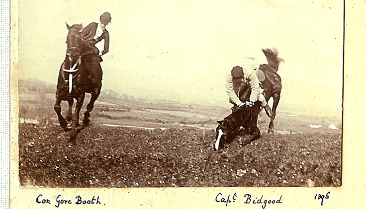 CON GORE BOOTH HORSEBACK LISSADELL STERRY