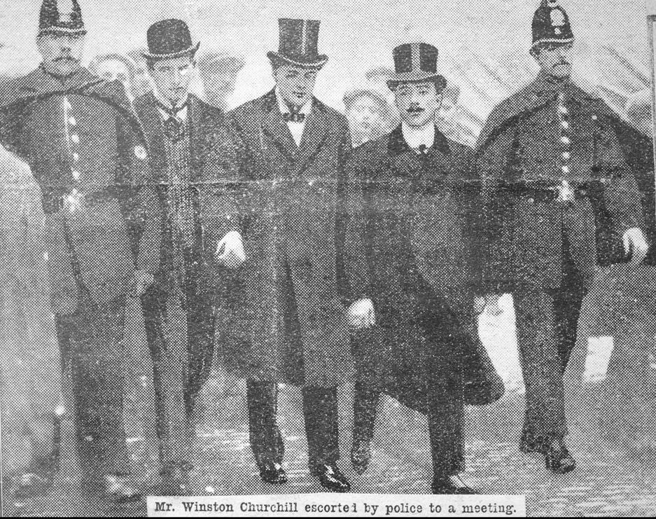 Winston Churchill 1908